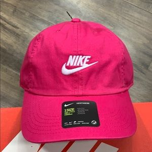 NIKE CAP HERITAGE86 YOUTH 1 size pink/white